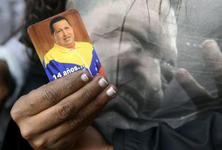 Dolor por Chávez. Fuente: http://www.eluniversal.com.co