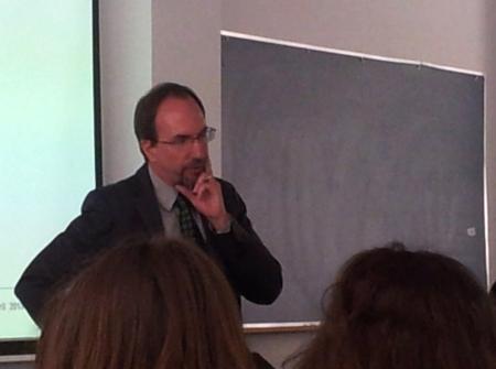 Jeff Galvin responde a las preguntas de los alumnos