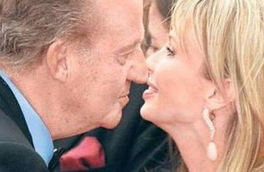 El Rey y Corinna. Fuente: vanitatis.com