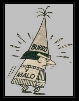 Caricatura de un tonto de capirote. Fuente: 4.bp.blogspot.com/