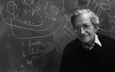 Noam Chomsky, lingüista, filósofo y activista estadounidense. Fuente: telegraph.co.uk