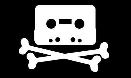 Logo de Pirate bay, lugar de descarga de archivos .torrent. De momento no los persiguen