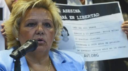 Ángeles Pedraza, representante de la AVT