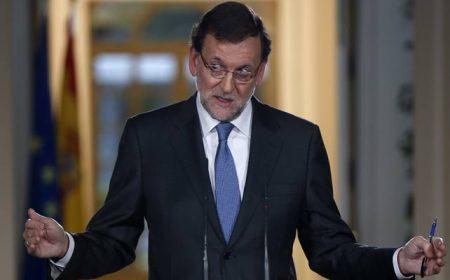 Mariano Rajoy durante la intervención. Foto: Público.es