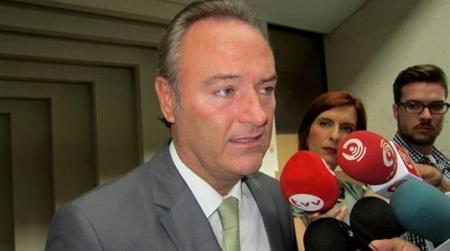 Alberto Fabra, President de la Generalitat de Valencia. Foto: vertele