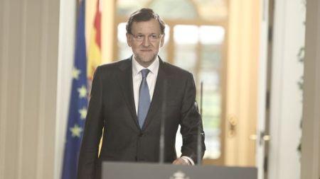 Rajoy entra en escena. Foto:  Eldiario.es