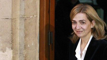Cristina a la salida del juicio en Las Palmas. Foto: RTVE