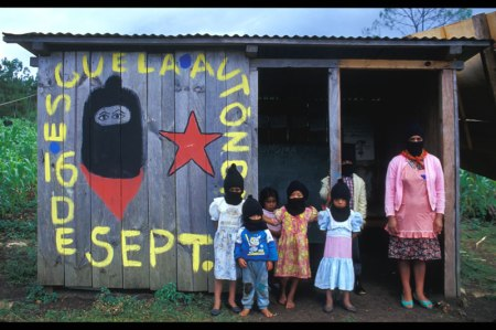 Escuela zapatista La Tejonera