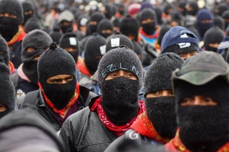 Marcha en conmemoración de los 20 años del alzamiento. Foto: Pedro Anza
