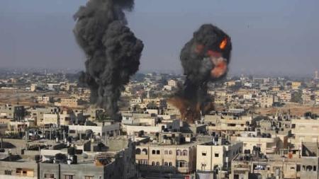 Bombardeos sobre Gaza.  Mexico CNN