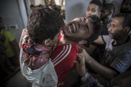 Funeral en Gaza. EFE