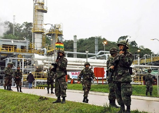 Nacionalización de YPF en Bolivia