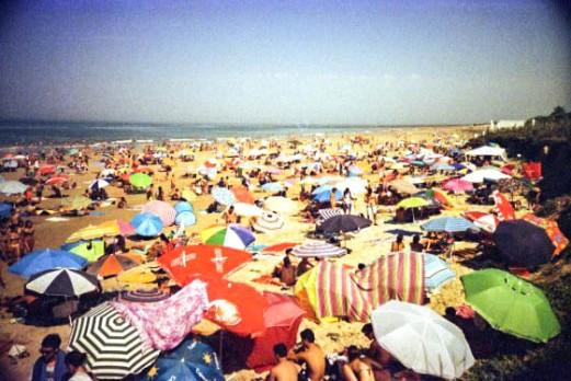 La playa de Punta Ballena